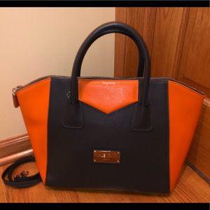 Valentino Zipper tote 👜, Orange and Grey!!